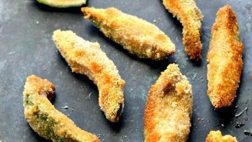 Vegan Baked Garam Masala Avocado Fries