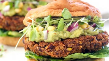 vegan california burger