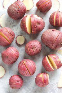 Vegan Pesto Herb Roasted Potatoes
