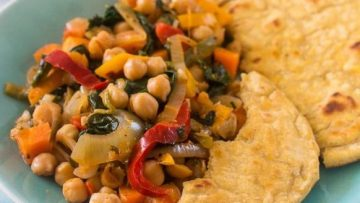 vegan vegetable chickpea stew