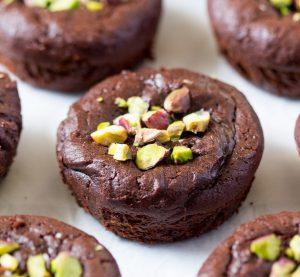 vegan fudgy brownie