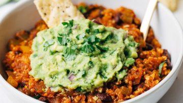 vegan mexican quinoa