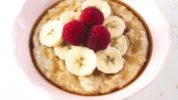 vegan simple oatmeal
