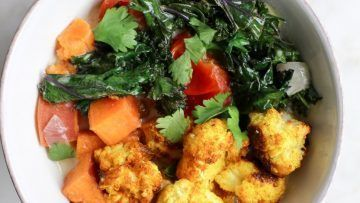 vegan turmeric cauliflower