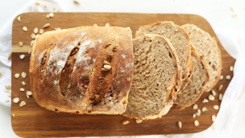 vegan whole wheat bread