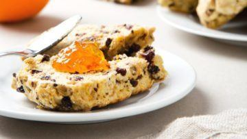 vegan irish scones