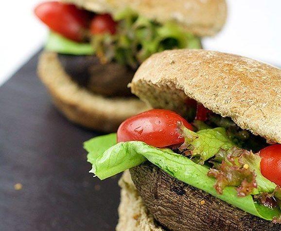 vegan portobello burgers