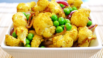 Vegan Curry Cauliflower