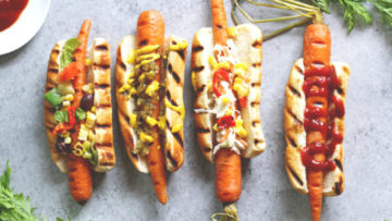 vegan carrot dogs