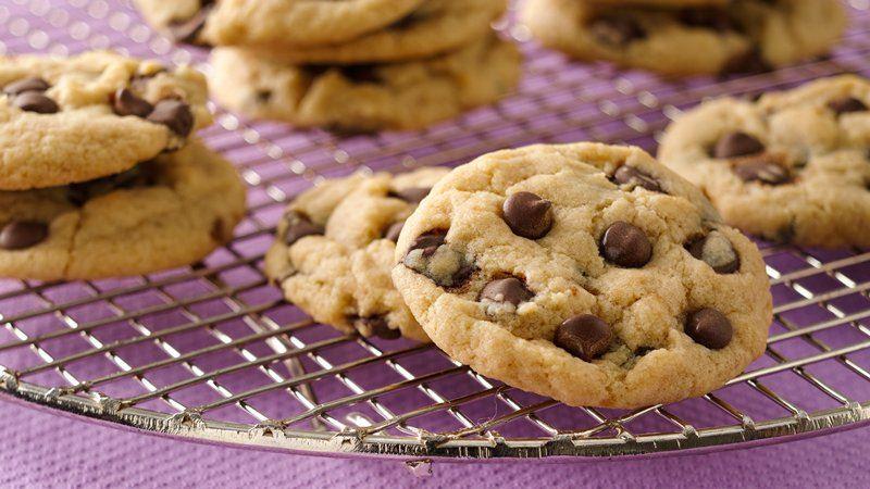 vegan classic chocolate chip cookies