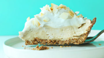 vegan coconut cream pie