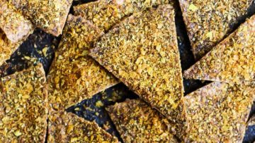 vegan easy baked doritos