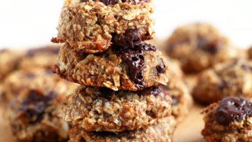 vegan gluten free oats cookies