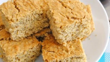 vegan healthy cornbread