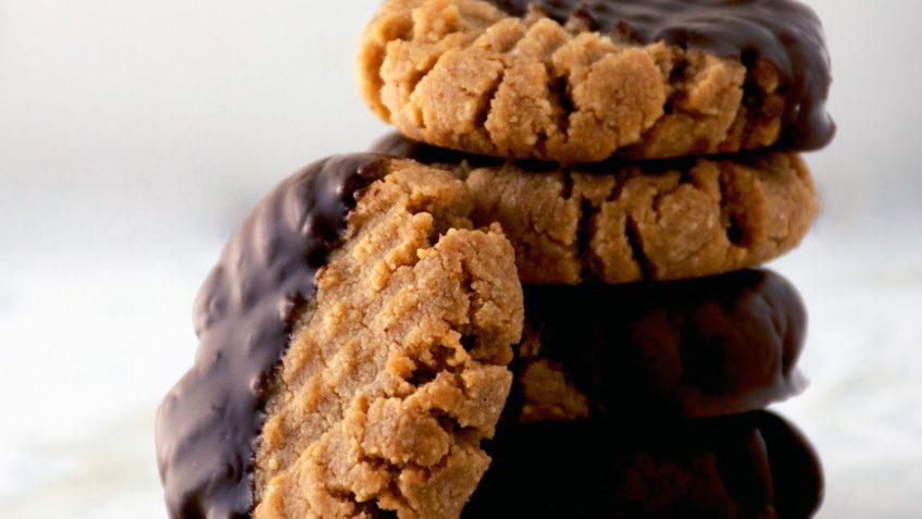 vegan healthy peanut butter cookies