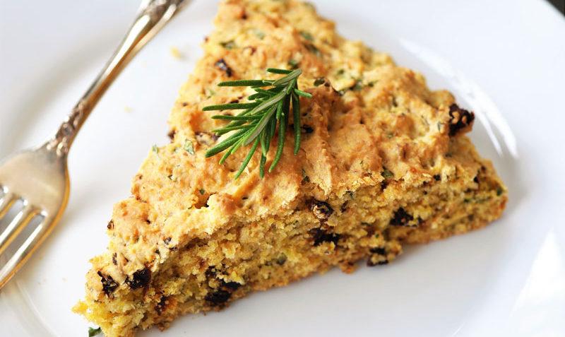 vegan italian cornbread