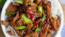 vegan mongolian beef