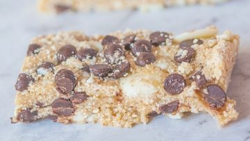 vegan no bake protein bars