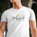 Vegan t-shirt: Plant Powered