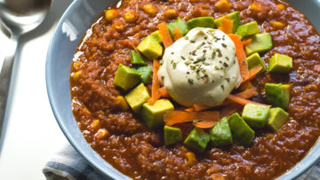vegan quinoa chili