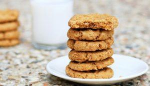 vegan secret peanut butter cookies