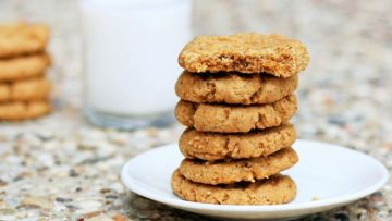 vegan secret peanut butter cookies