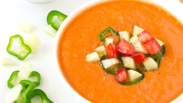 vegan spanish gazpacho