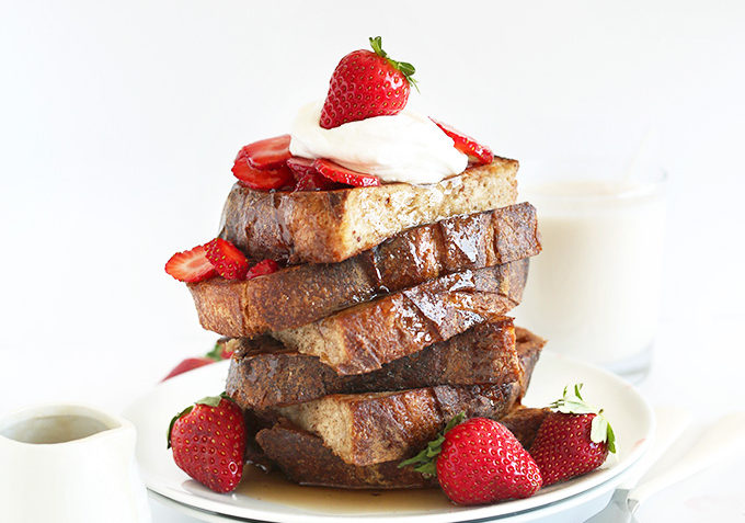 vegan basic french toast
