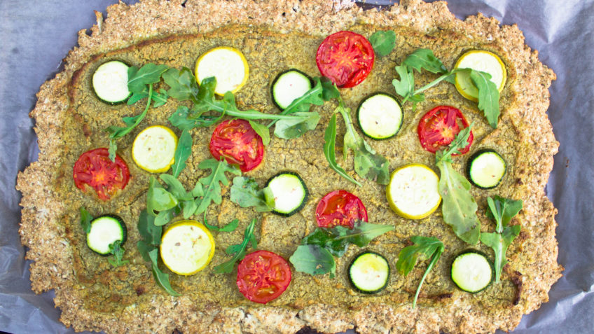 vegan cauliflower pizza