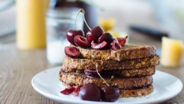 vegan chocolate french toast