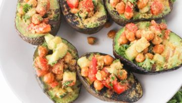 vegan grilled avocados