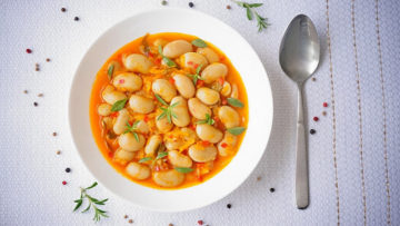 vegan white bean ragout