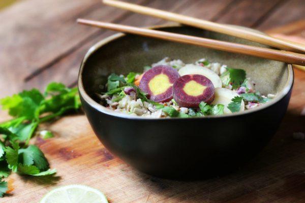 Vegan Thai Coconut Quinoa Salad
