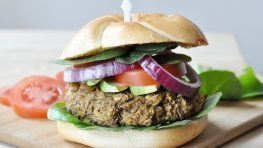 Vegan-Lentil-Mushroom-Burger-Gluten-Free