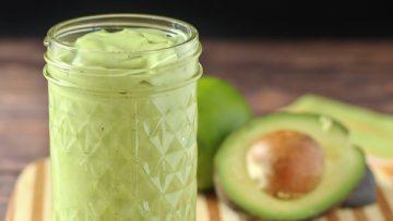 vegan creamy avocado dressing