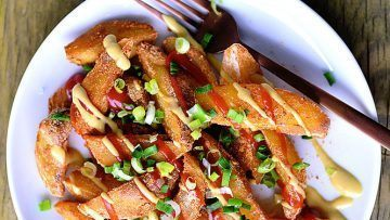 vegan crispy french fries
