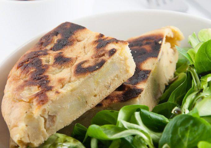 vegan tortilla española