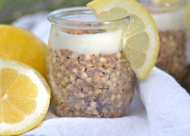 vegan Lemon Coconut Buckwheat Porridge
