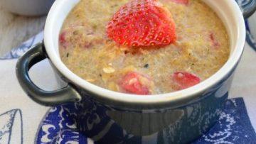 vegan creamy quinoa breakfast bake