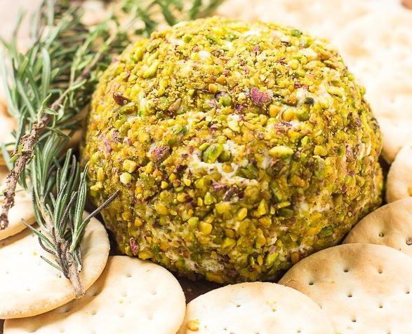 vegan pistachio cheese