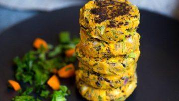 vegan rice patties