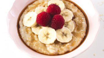 vegan simple oatmeal