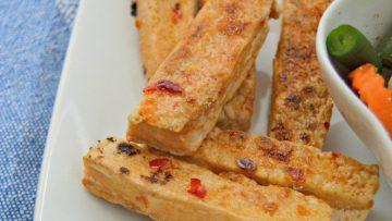 vegan sweet chili tofu