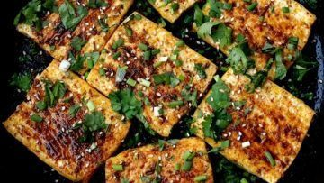 vegan tofu steaks