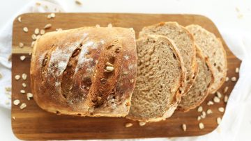vegan whole wheat bread