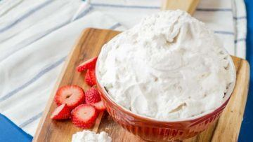 vegan coconut whipped cream