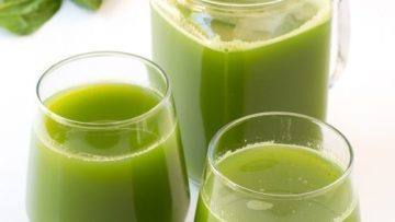 vegan detox green juice