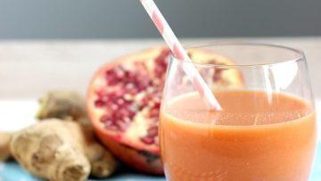 vegan skin glow juice