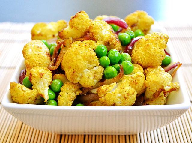 Vegan Curry Cauliflower