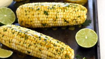 vegan baked corn on the cob